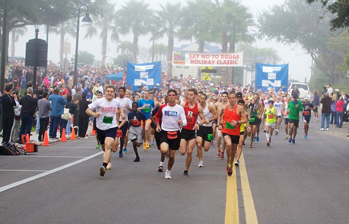 Runners Exemplify the Freedom of a Drug Free World